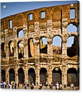Coliseum Facade Acrylic Print