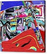 Collage 128 Acrylic Print