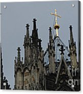 Cologne Cathedral Towers Acrylic Print