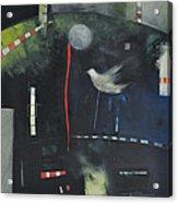 Colombe Dans Le Cirque De Nuit Acrylic Print