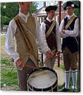 Colonial Drummer Acrylic Print