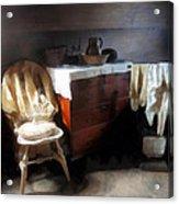 Colonial Nightclothes Acrylic Print
