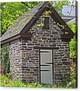 Colonial Stone Ice House Acrylic Print