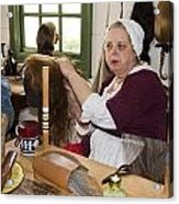 Colonial Wigmaker Acrylic Print