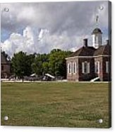 Colonial Williamsburg Scene Acrylic Print