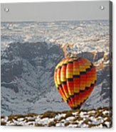 Color Above The Canyon Acrylic Print