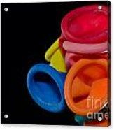 Color Balloons Acrylic Print