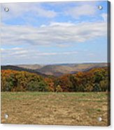 Color Beyond The Field Acrylic Print