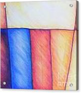 Color Block Acrylic Print