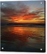 Color Burst Reflection  Acrylic Print