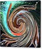 Color In Motion Acrylic Print by Virginia Bond