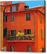 Color In Provence Acrylic Print