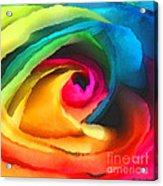Color Launch Acrylic Print