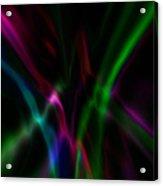 Color Rays Acrylic Print