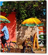 Color Acrylic Print by Skip Hunt