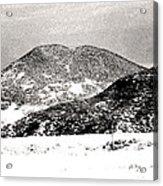 Colorado 2 In Black And White Acrylic Print
