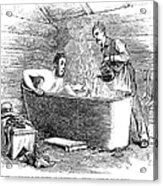 Colorado Bathhouse, 1879 Acrylic Print