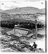 Colorado: Durango, 1883 Acrylic Print