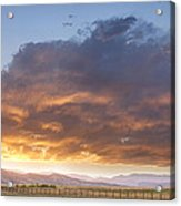 Colorado Evening Light Acrylic Print