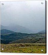 Colorado Foothills Acrylic Print