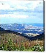 Colorado Landscape Acrylic Print