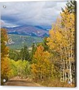 Colorado Rocky Mountain Autumn Scenic Drive Acrylic Print