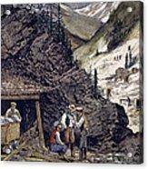 Colorado Silver Mines, 1874 Acrylic Print