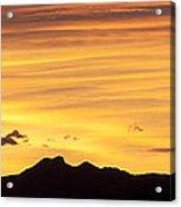 Colorado Sunrise Landscape Acrylic Print