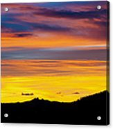 Colorado Sunrise -vertical Acrylic Print