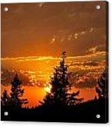 Colorfrul Sunset I Acrylic Print