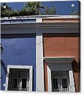 Colorful Architecture In Old San Juan Acrylic Print