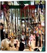 Colorful Beads At The Surajkund Mela Acrylic Print