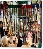 Colorful Beads At The Surajkund Mela Acrylic Print