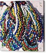 Colorful Beads Jewelery Acrylic Print