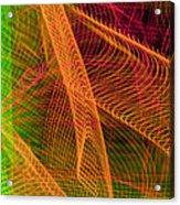 Colorful Beams 1 Acrylic Print
