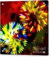 Colorful Blade Acrylic Print