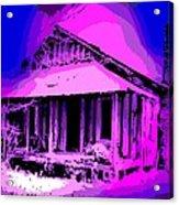 Colorful Cracker House Acrylic Print