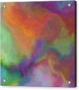 Colorful Dreams Abstract Acrylic Print