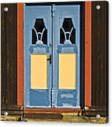 Colorful Entrance Acrylic Print