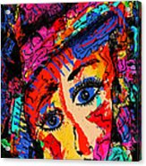 Colorful Expression 19 Acrylic Print