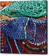 Colorful Fishing Nets 2 Acrylic Print