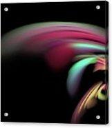 Colorful Flash Acrylic Print