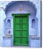 Colorful India Acrylic Print