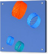 Colorful Kites Acrylic Print by David Lee Thompson