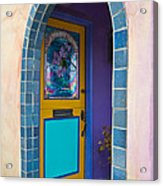 Colorful Porch Acrylic Print
