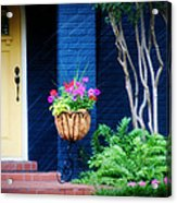 Colorful Porch Acrylic Print