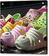 Colorful Shoe Acrylic Print