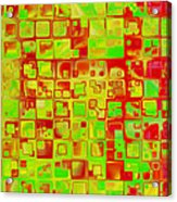 Colorful Squares II Acrylic Print
