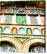 Colorful Tiles Acrylic Print