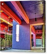 Colorful Tucson Apartment Acrylic Print